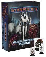 Image: Starfinder Pawns: Alien Archive Pawn Box  - Paizo Inc