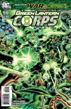 Image: Green Lantern Corps #59 (variant cover) (v10) - DC Comics