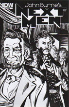 Image: John Byrne: Next Men #6 (10-copy incentive cover) (v10)