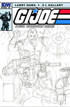 Image: G.I. Joe: A Real American Hero #168 (10-copy incentive cover) (v10)