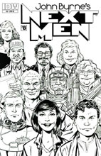 Image: John Byrne's Next Men #8 (10-copy incentive cover) (v10)