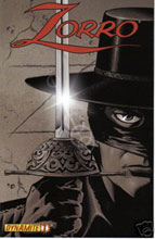 Image: Zorro #1 (Wagner incentive cover) - D. E./Dynamite Entertainment