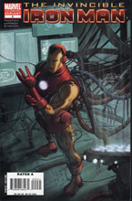 Image: Invincible Iron Man #2 (2nd Print Variant Cover) - Marvel Comics