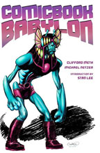 Image: Comic Book Babylon SC  (signed) - Aardwolf Publishing
