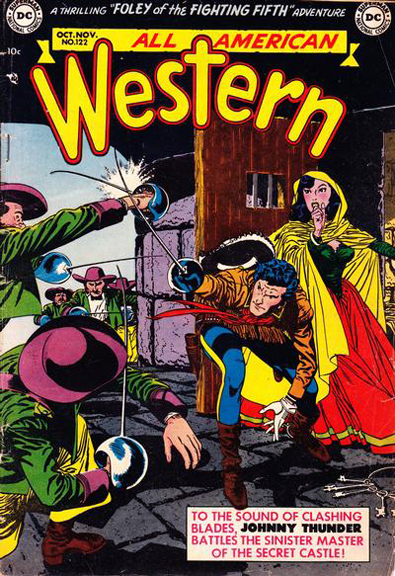 All-American Western #122 featuring Jonny Thunder by Alex Toth