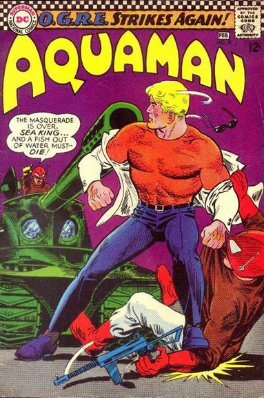 Aquaman Before…