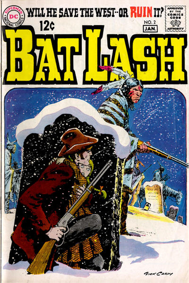 Bat Lash #2 probably Nick Cardy's most famous cover from the series