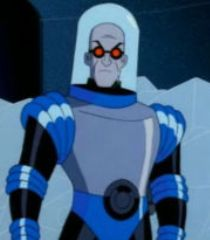Mr. Freeze enjoys the temperature