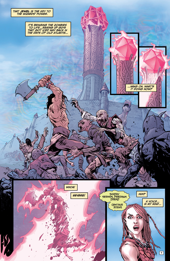 Bronze Age Boogie #1 preview page 4