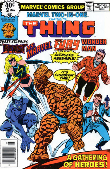 Marvel Two-in-One #51