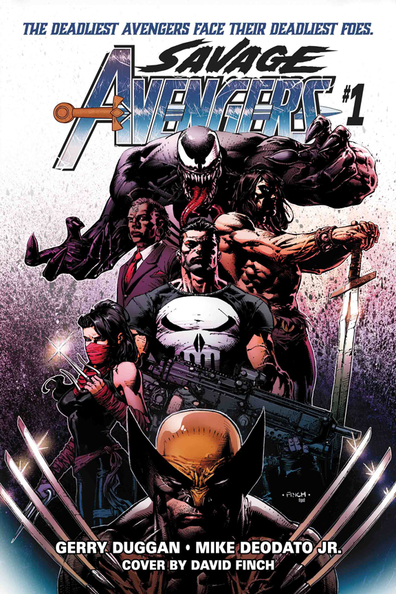 Savage Avengers #1