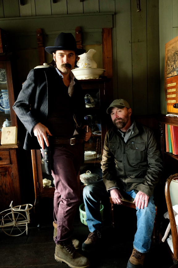 Tim Rozon and Beau Smith