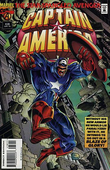 Captain America #438