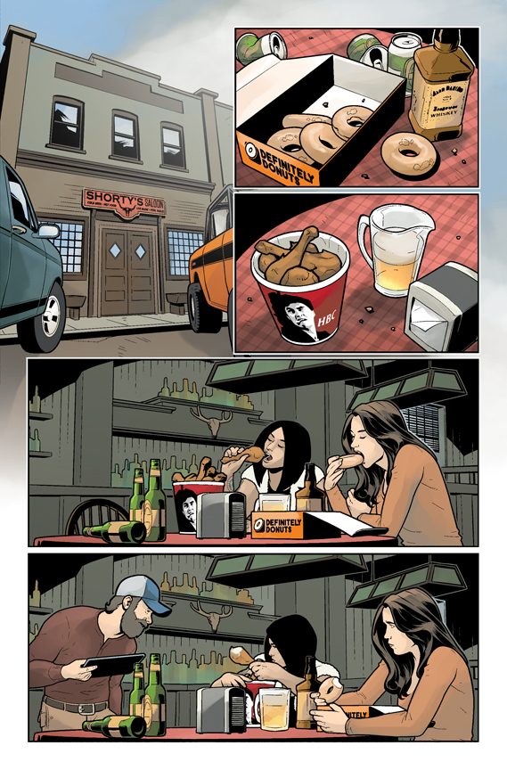 Wynonna Earp: Bad Day at Black Rock preview page 1