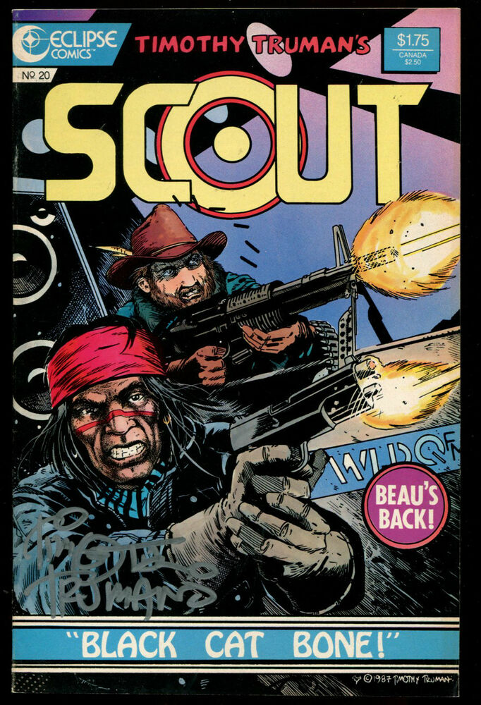 Scout Issue #20 Eclipse Comics.