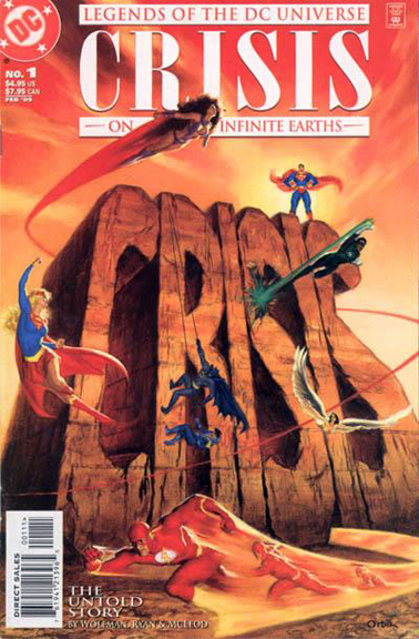 Legends of the DC Universe: Crisis on Infinite Earths #1