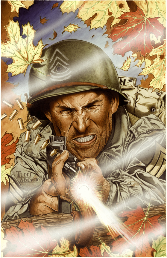 Sgt. Rock by Billy Tucci.