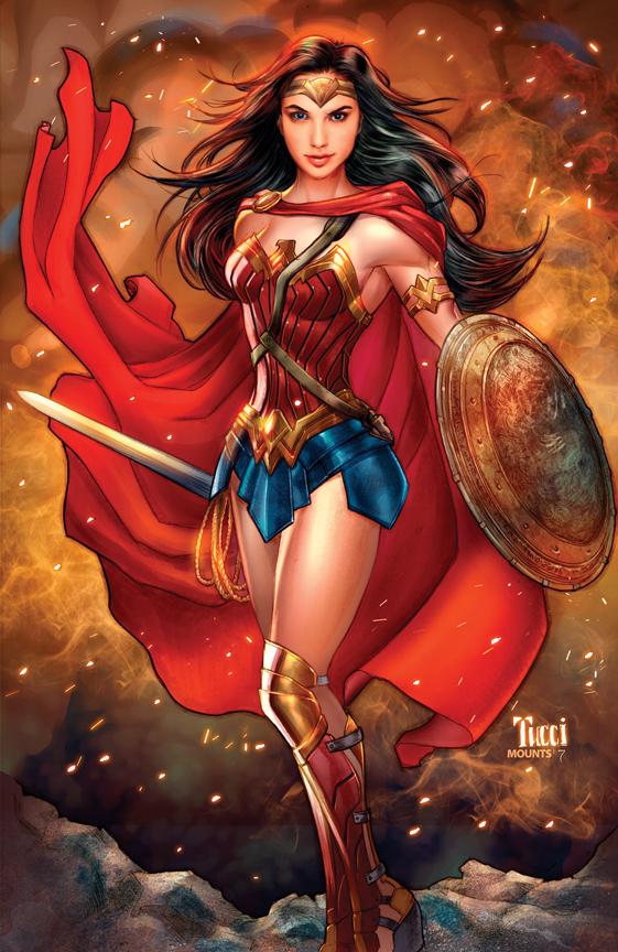 Wonder Woman by Billy Tucci.
