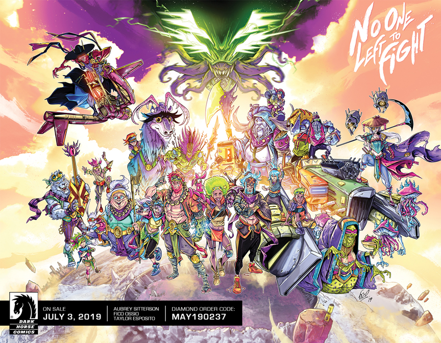 No One Left to Fight promotional art