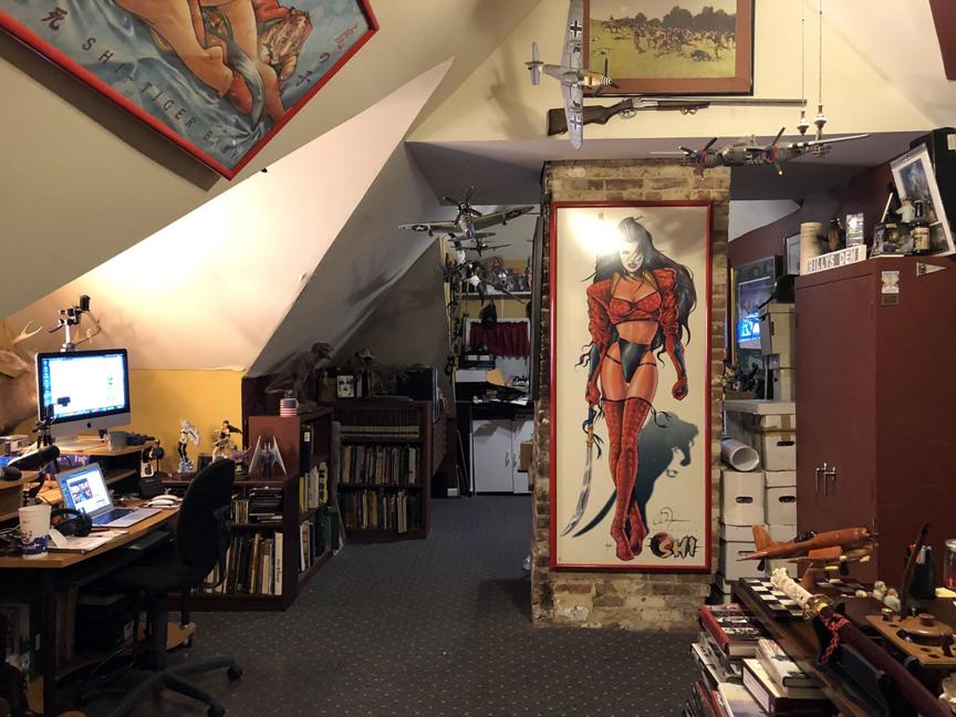 Billy Tucci Studio.
