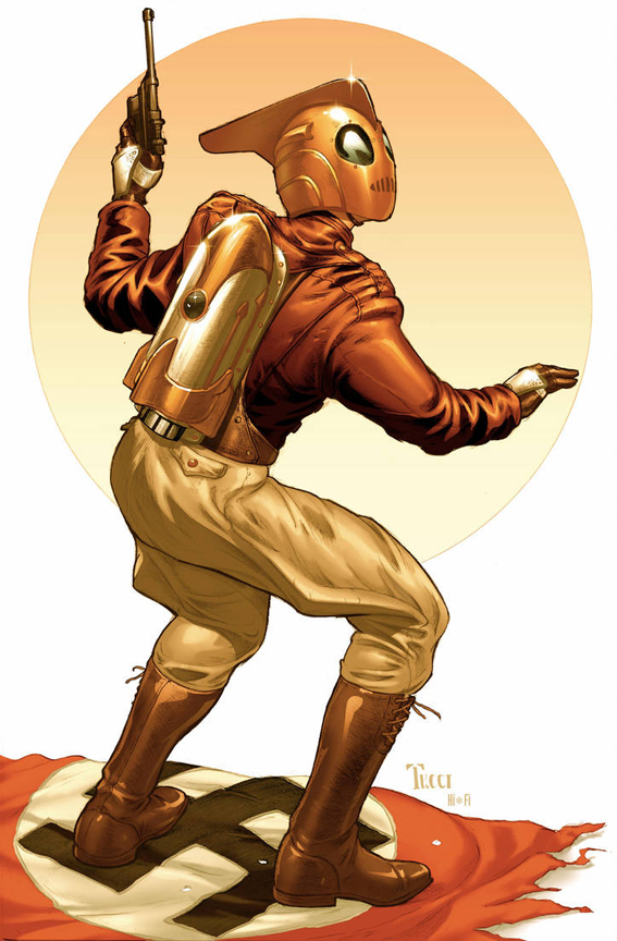 The Rocketeer by Billy Tucci