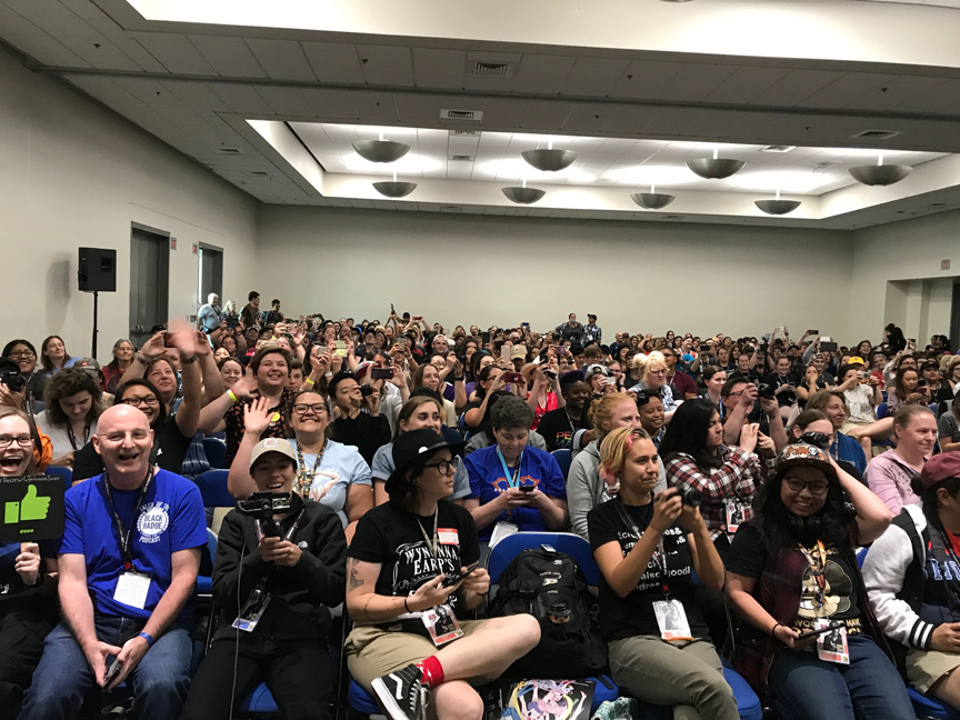 Good panels make for happy audience members