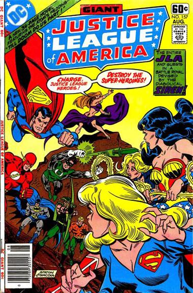 Justice League of America #157