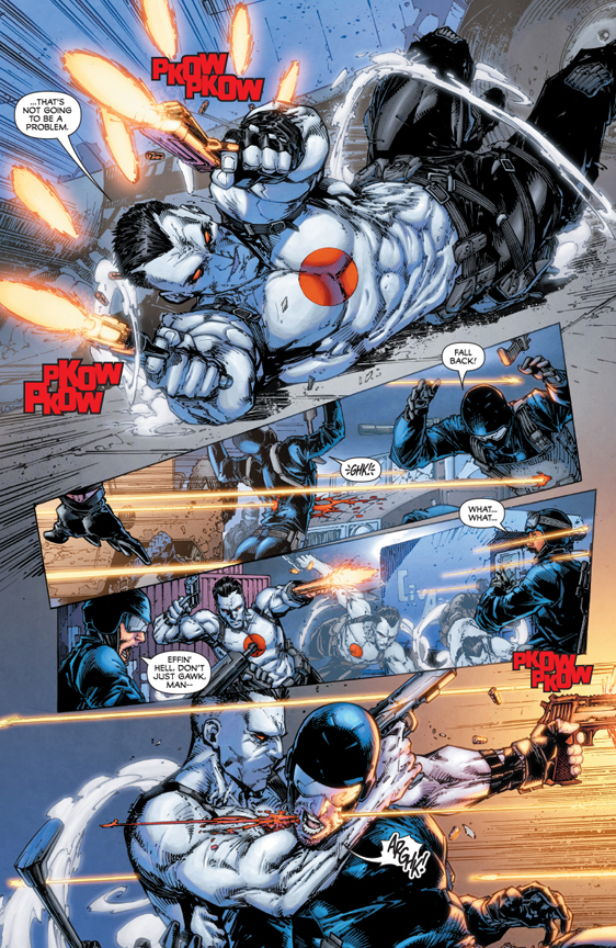 Bloodshot #1 preview page 5