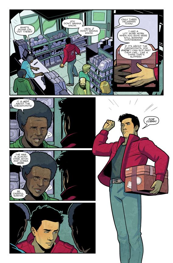 G.I. Joe #1 preview page 2