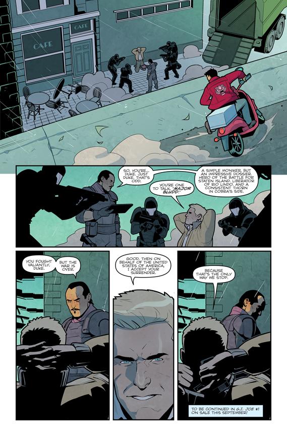G.I. Joe #1 preview page 5