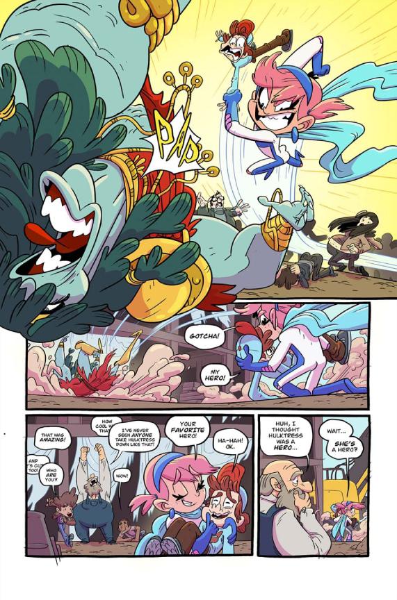 Pretty Violent #1 preview page 2