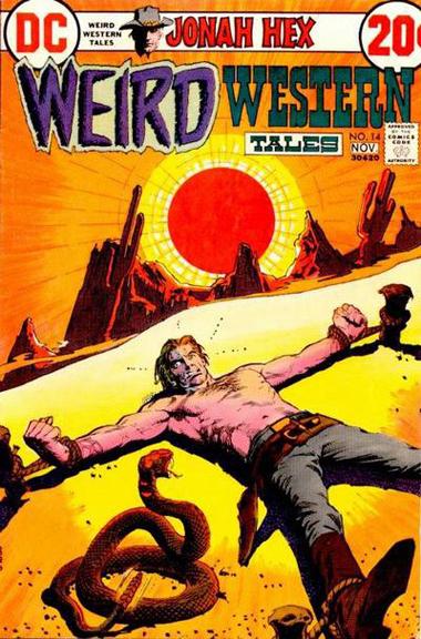 Weird Western Tales #14