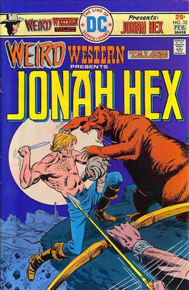 Weird Western Tales #32, the first Garcia-Lopez cover