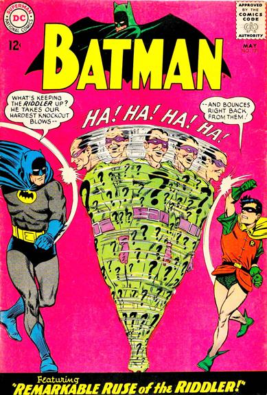 Batman #171 Riddle Me This, Batman….