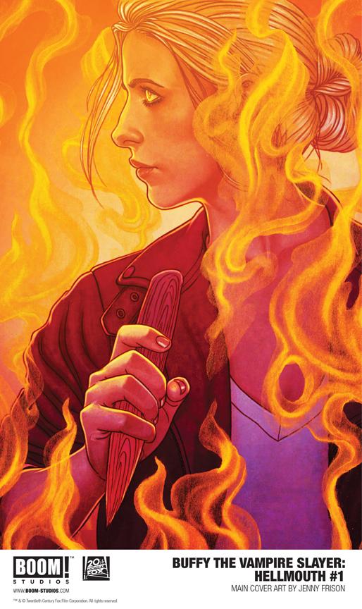 Hellmouth #1 Jenny Frison cover