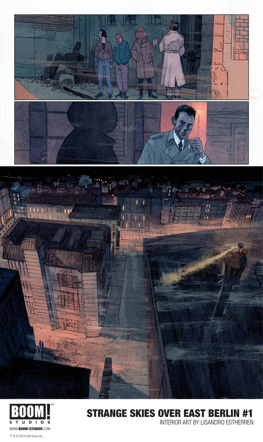 Strange Skies Over East Berlin #1 Preview page 1