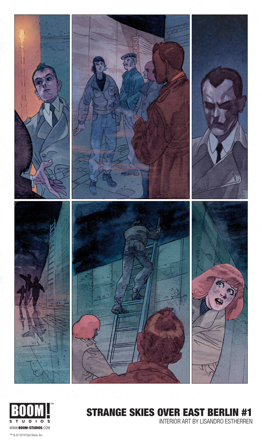 Strange Skies Over East Berlin #1 Preview page 2