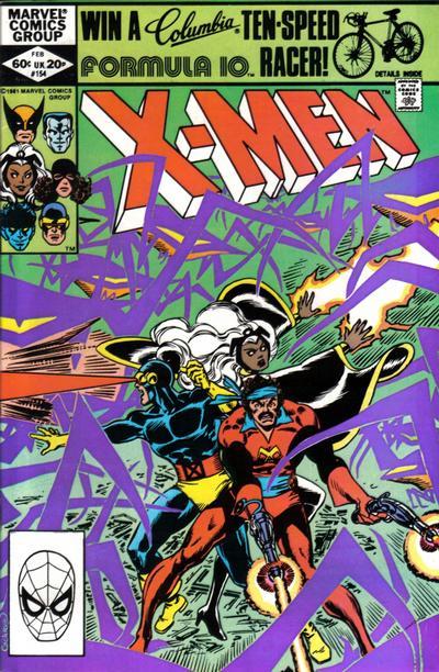 Uncanny X-Men #154