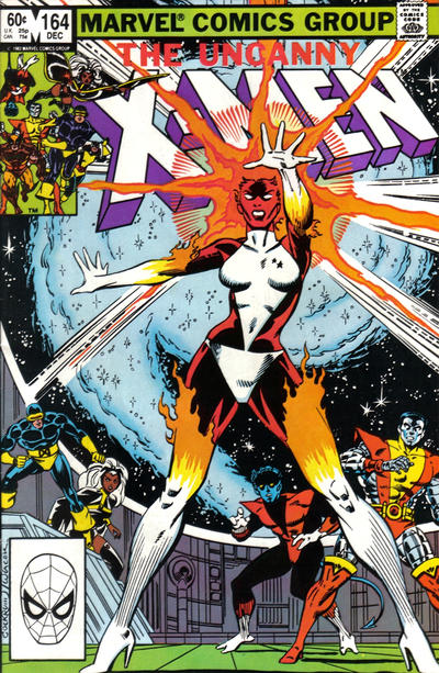 Carol Danvers/Binary is spotlighted on the cover of Uncanny X-Men #164