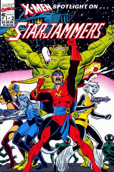 X-Men: Spotlight on Starjammers #1