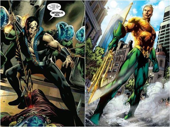 Sub-Mariner Vs. Aquaman