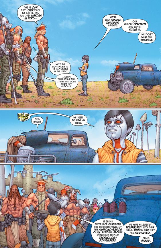 Rai #1 preview page 2