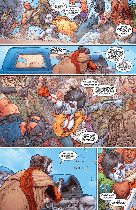 Rai #1 preview page 5