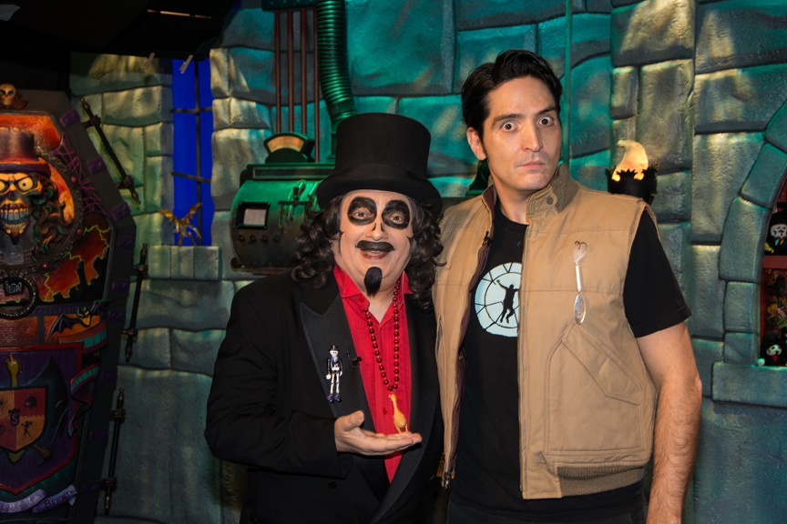Svengoolie and David Dastmalchian