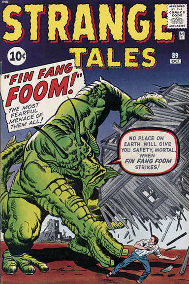 Fin Fang Foom better not show up at Beau's house.