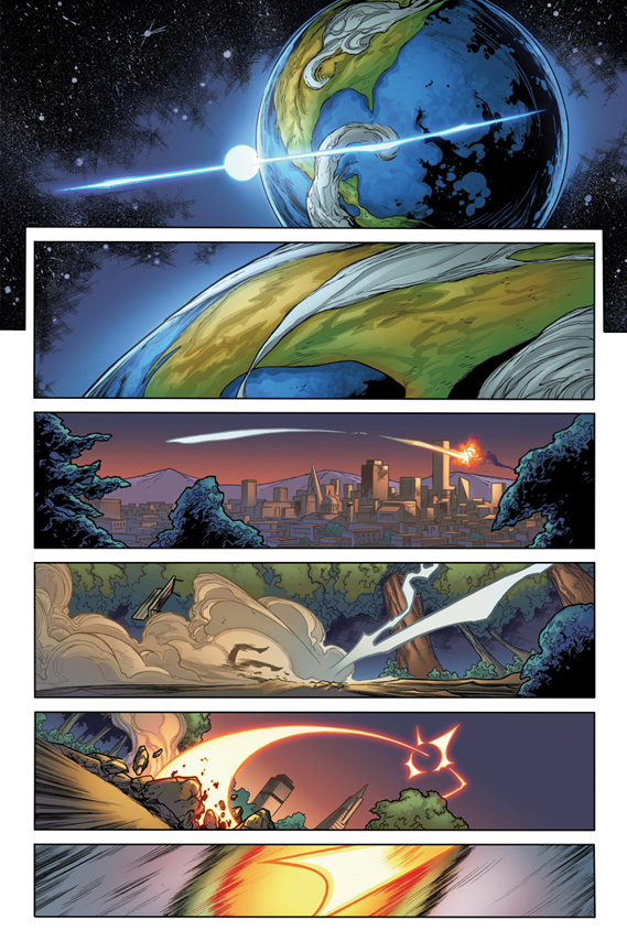 Doctor Tomorrow #1 preview page 1