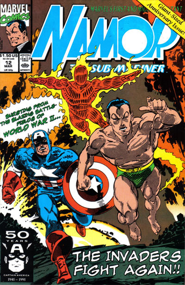 The Invaders as drawn by John Byrne.