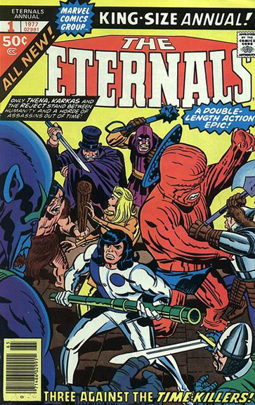 The Eternals Annual #1