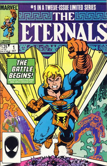 Eternals (1985) #1