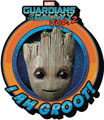 Image: Guardians of the Galaxy 2 Chunky Magnet: Baby Groot Smile  - Nmr Distribution America